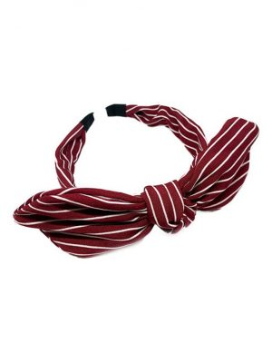 Mixit-Red-Striped-Bow-Headband-800×1017-1