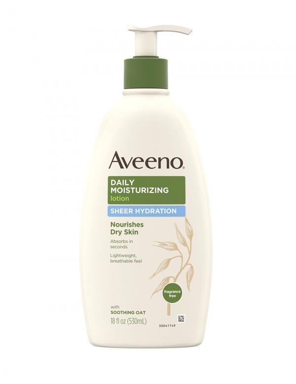 Aveeno Daily Moisturizing Lotion Sheer Hydration 18oz