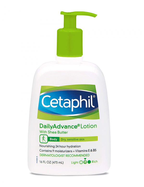 Cetaphil Daily Advance Lotion With Shea Butter, 16oz