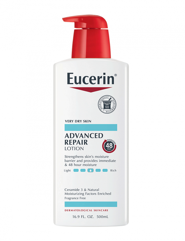 Eucerin Advanced Repair Body Lotion, For Dry Skin, 16.9oz
