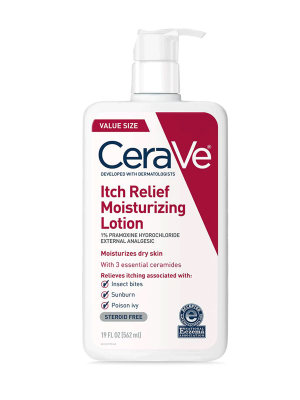 CeraVe Itch Relief Moisturizing Lotion for Dry Skin, 8 oz
