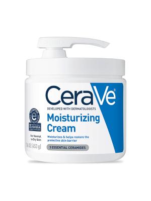 CeraVe Moisturizing Cream, Face and Body Moisturizer with Pump, 16oz