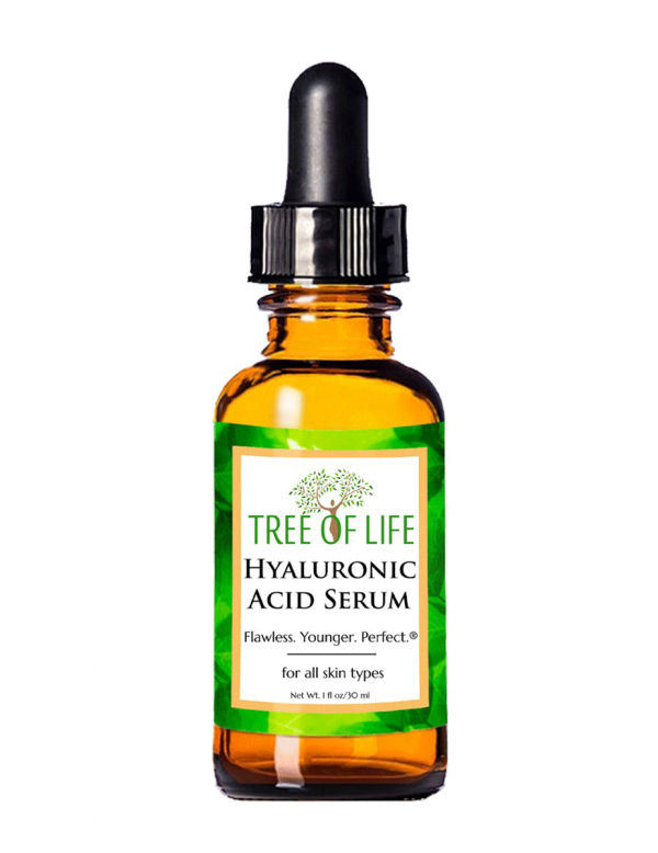 Hyaluronic Acid Serum for Face and Skin, 1oz
