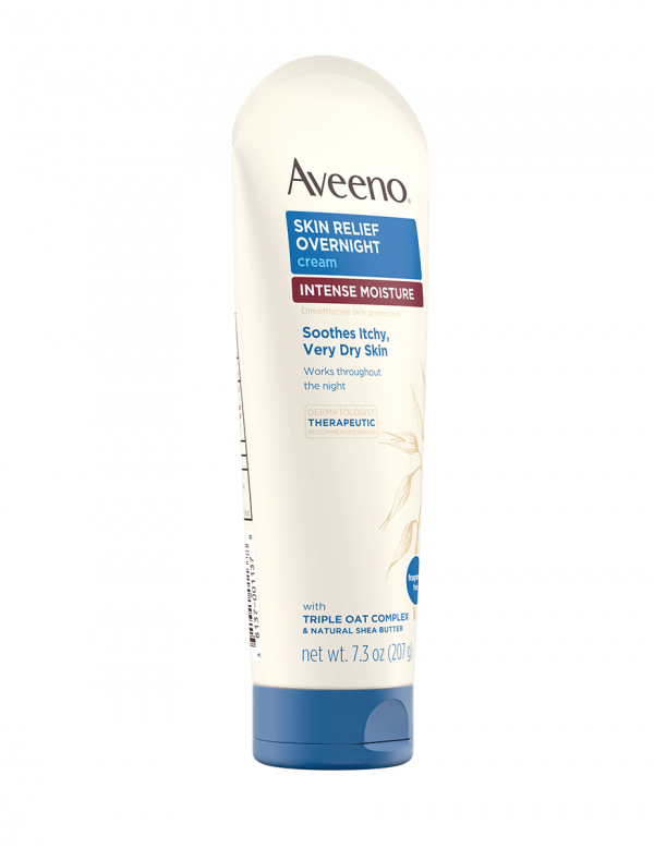 Aveeno Skin Relief Overnight Intense 24-Hour Moisture Cream, 7.3oz