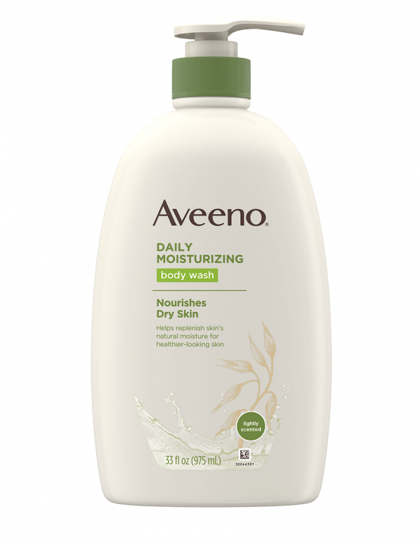 Aveeno Daily Moisturizing Body Wash with Soothing Oat, 33oz