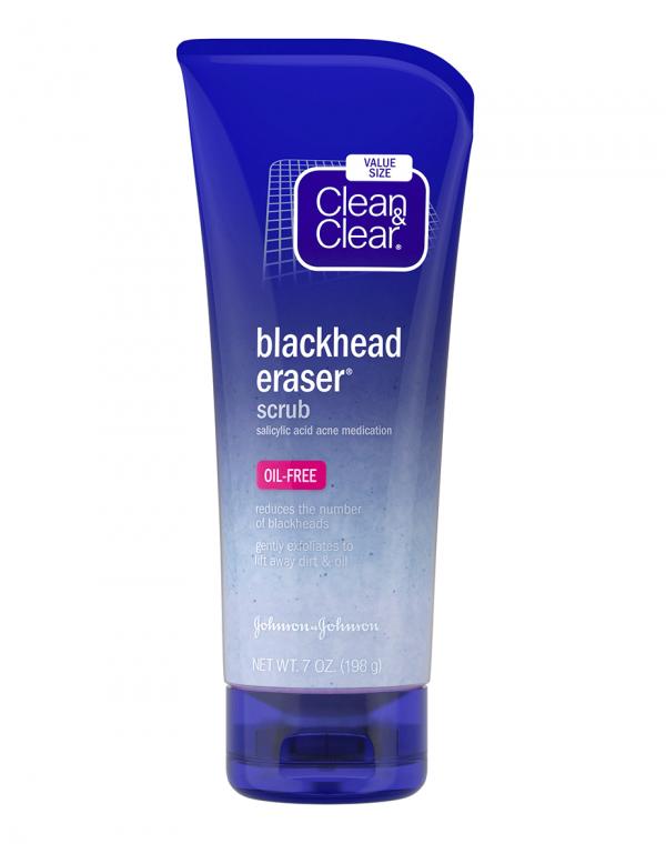 Clean & Clear Blackhead Erase Facial Scrub, 7oz