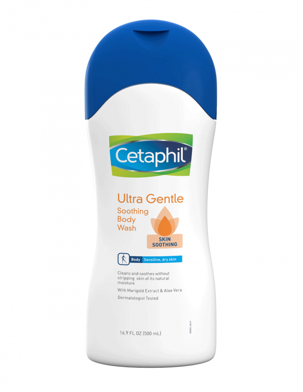 Cetaphil Ultra Gentle Soothing Body Wash, 16.9oz