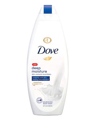 Dove Deep Moisture Skin-Natural Nourishing Body Wash, 22oz