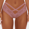 Fashion Nova Call Me Baby Lace Cheeky Panty - Rose