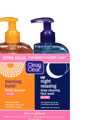 Morning Burst & Night Relaxing Cleansing Face Wash Pack