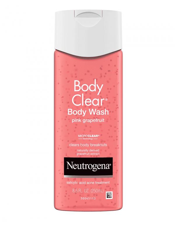 Neutrogena Body Clear Pink Grapefruit Acne Body Wash, 8.5oz