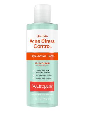 Neutrogena Oil-Free Acne Stress Control Triple Action Toner 8oz