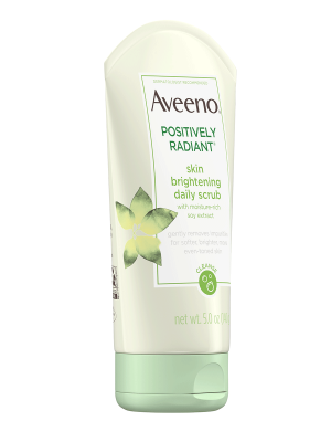 Aveeno Positively Radiant Skin Brightening Daily Face Scrub,5oz