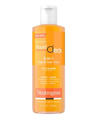 Neutrogena Rapid Clear Fight & Fade Facial Toner,8oz