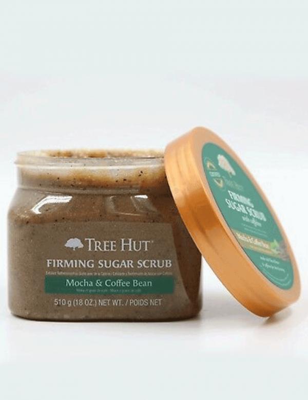 Tree Hut Firming Sugar Scrub With Mocha & Coffee Bean,18oz
