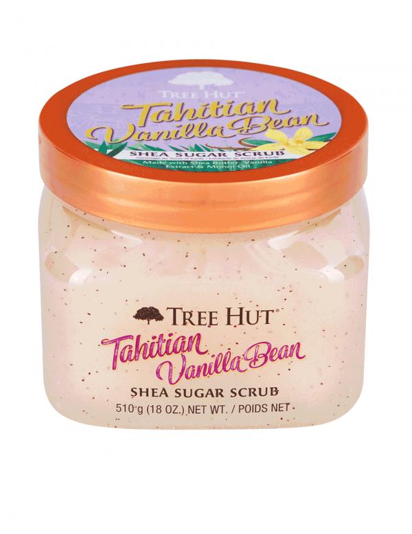 Tree Hut Tahitian Vanilla Bean Shea Sugar Scrub,18oz