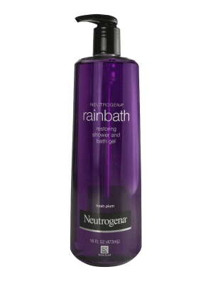 Neutrogena Rainbath Restoring Bath Gel With Plum,16oz