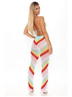 FashionNova Summer Status Crochet 2Piece Set