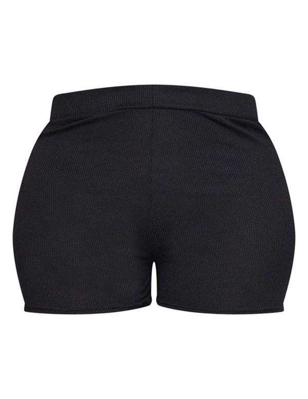 PrettyLittleThing Lingerie Short - Black